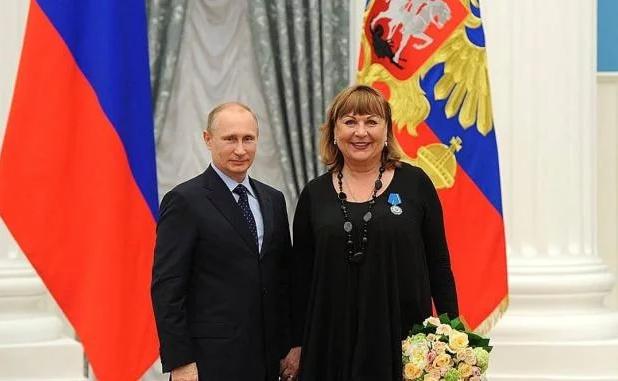 Татьяна Кравченко - награда от Путина