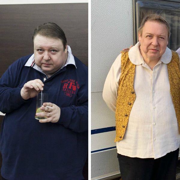 Александр Семчев сильно похудел: фото до и после
