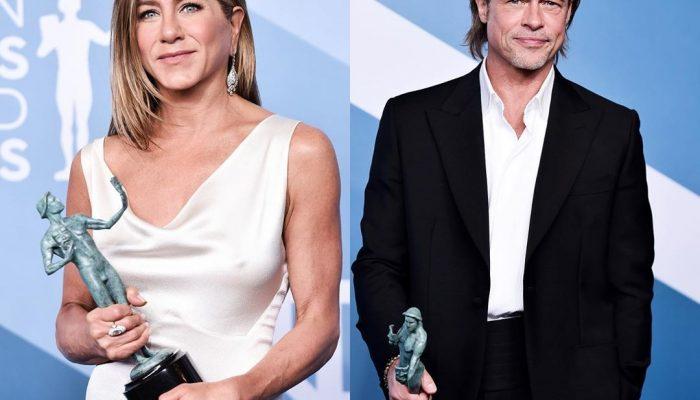 Брэд Питт и Дженнифер Энистон снова вместе: последние новости пары