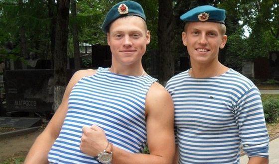 Алексей Щербаков в армии