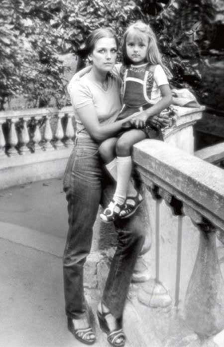 Ирина Алферова с дочкой Ксенией
