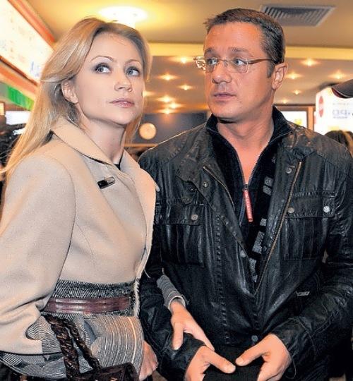 Мария Миронова и ее второй муж Алексей Макаров