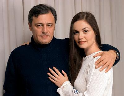 Душан Перович с супругой Екатериной Андреевой
