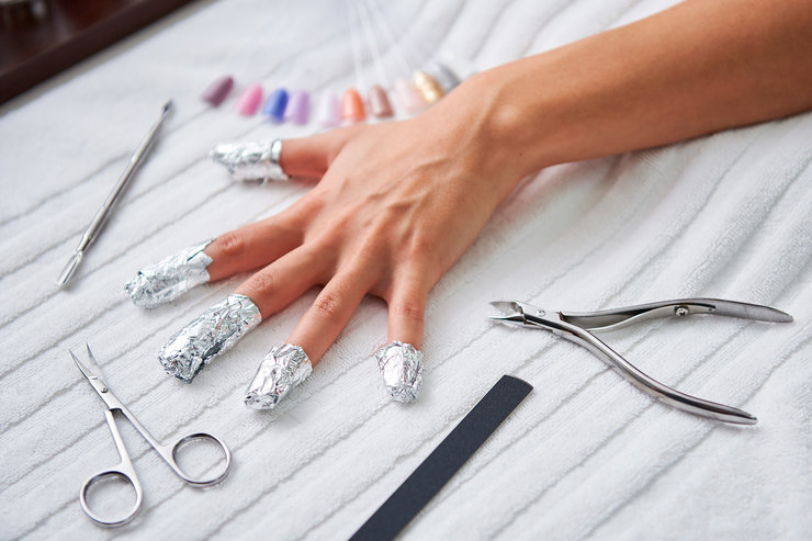 инструменты и методы для процедуры удаления шеллака
