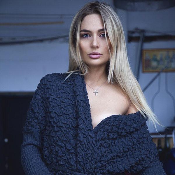 Наталья Руденко в роли модели