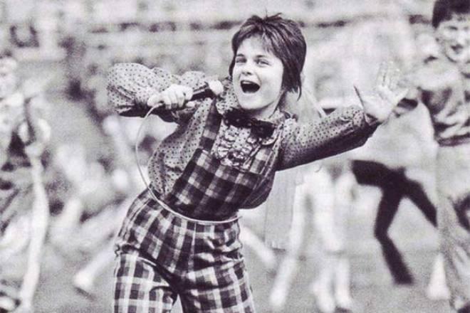 Певица Наташа Королева в детстве