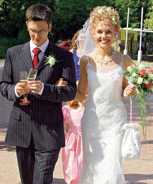 Ремезова с мужем Дмитрием