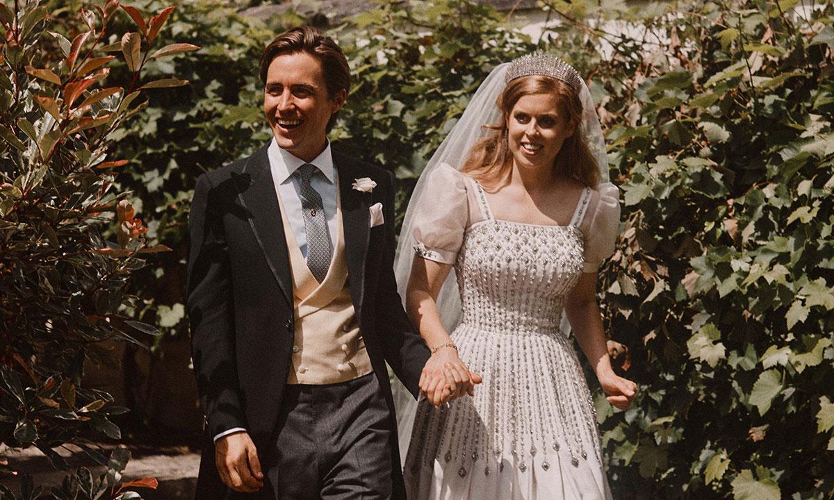 принцесса Беатрис с мужем