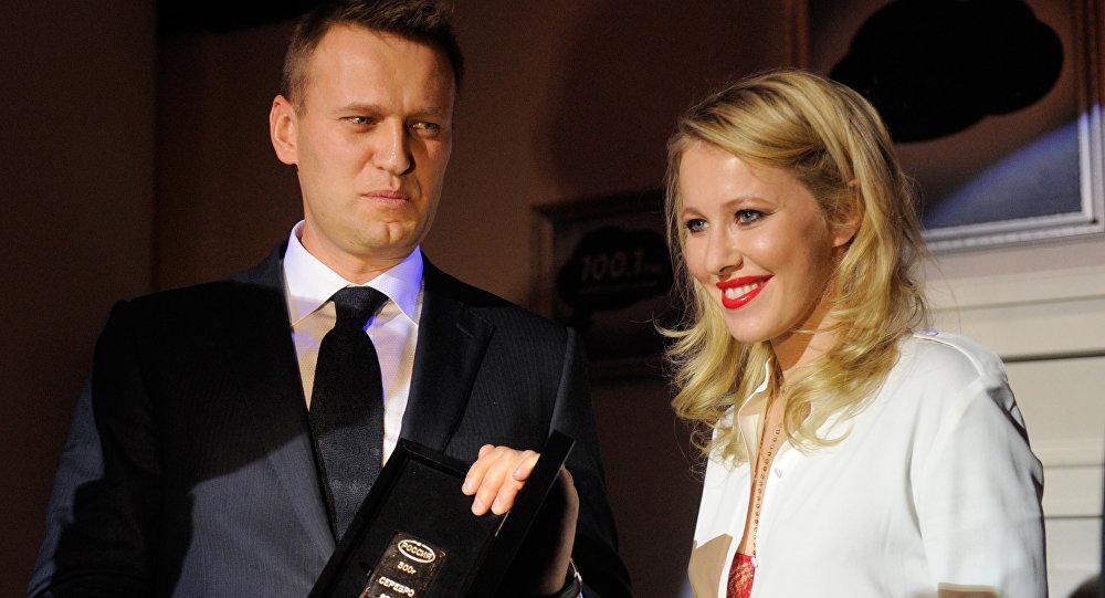 Ксения Собчак о коме Навального