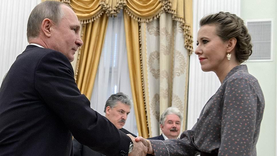 Ксения Собчак о силовиках Путина