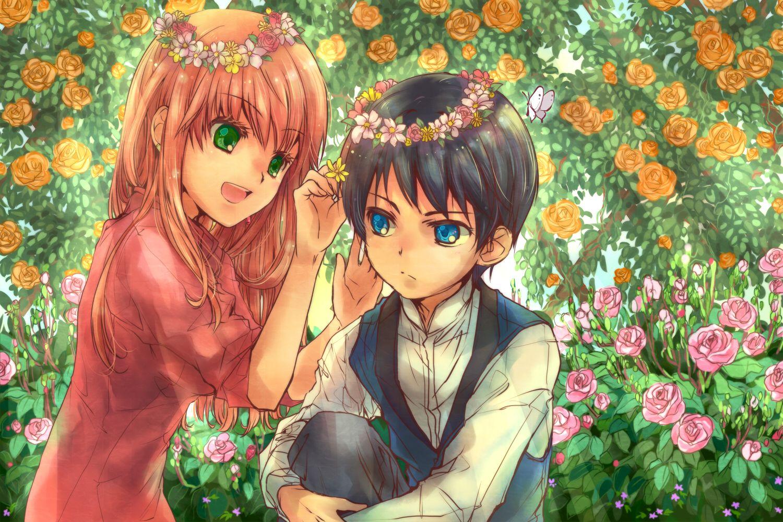 аниме где плохой парень влюбляется в хорошую девушку