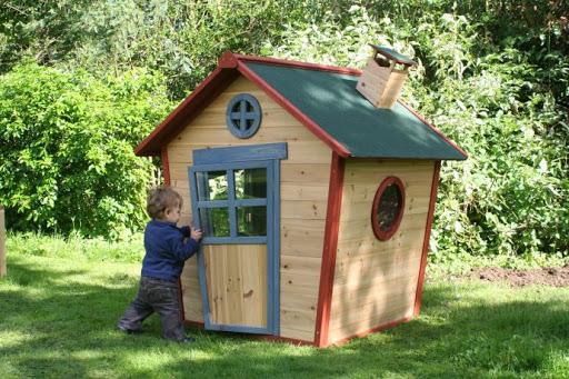 детский домик своими руками из дерева