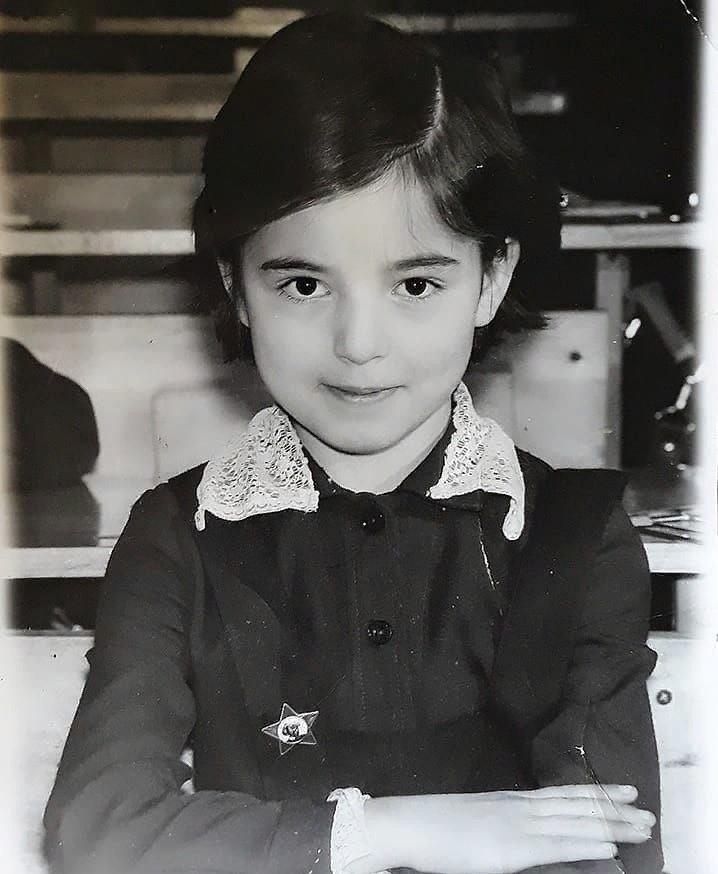 Такой была Марина Кравец в детстве