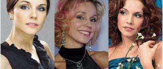 Марина Зудина до и после пластики