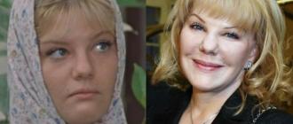Александра Захарова до и после пластики