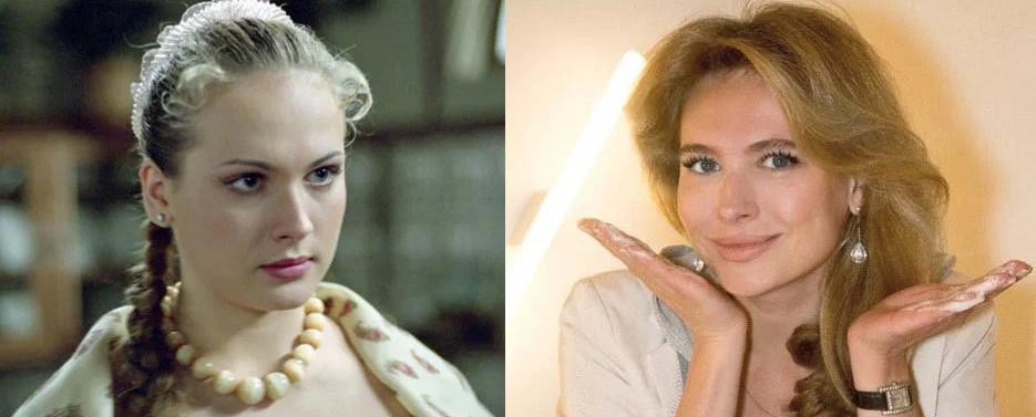Анна Горшкова до и после пластики