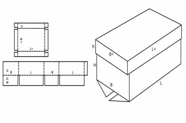 Макет коробки из картона – Схемы коробочек в векторе скачать бесплатно.  Большая коллекция шаблонов коробок из картона. — пушистикбукет.рф