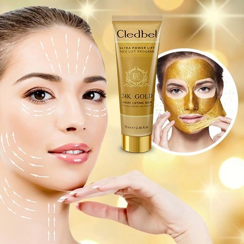 маска-пленка Cledbel 24K Gold