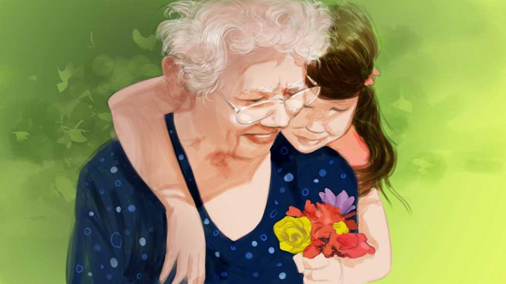 подарок бабушке от внучки на 8 Марта