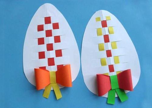 пасхальное яйцо поделка в детский сад, поделки на пасху, детские поделки к пасхе