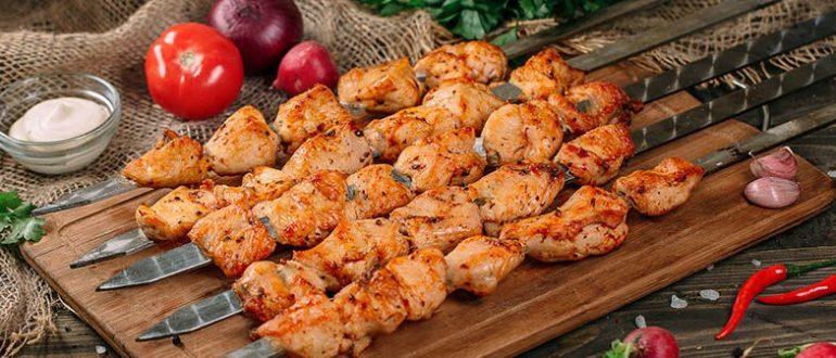 Шашлык из курицы: лучшие рецепты маринадов