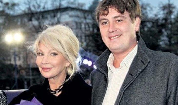 Татьяна Веденеева с сыном Дмитрием
