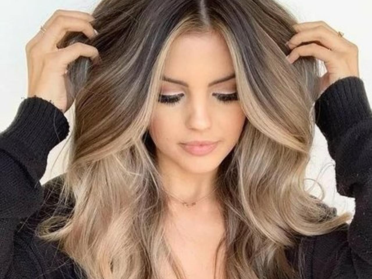 окрашивание волос 2021