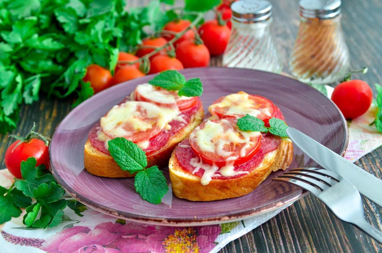 • рецепты горячих бутербродов