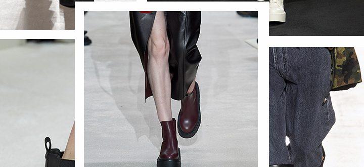 Модная обувь на осень 2021