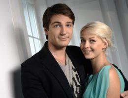 Михаил Пшеничный с женой