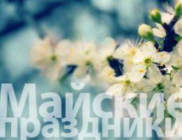 Миниатюра к статье Как отдыхаем на майские праздники в 2017 году: выходные дни