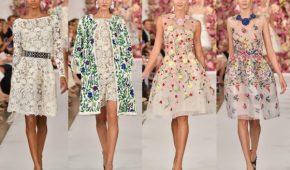Миниатюра к статье Модные тенденции платьев 2018 года (фото)