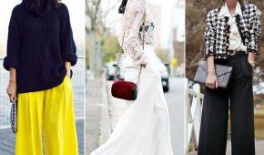 Миниатюра к статье Женские брюки 2018 года — модные тенденции (фото)