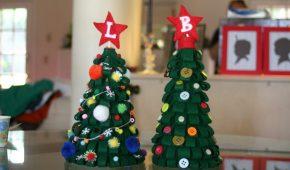 Миниатюра к статье Поделка «Елка» на Новый год в школу и в детский сад: своими руками