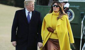 Миниатюра к статье Последние выходы и наряды Мелании Трамп